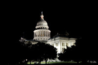 Texas Capitol by Night